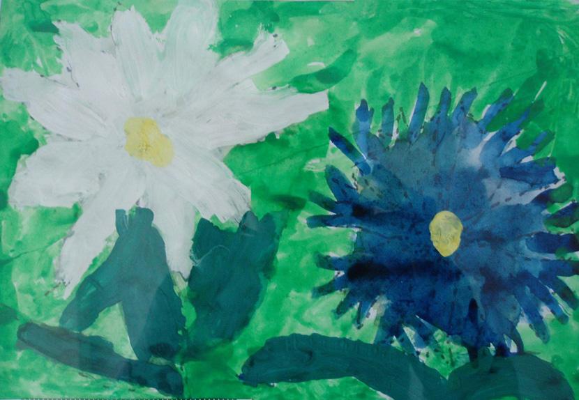 Полевые цветы автор баженов алеша